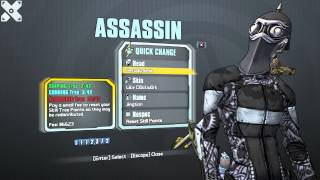 Borderlands 2 Assassin Cl0ckw0rk Pack.