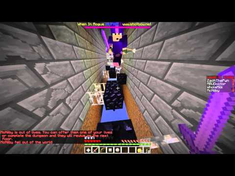 Minecraft : Shotbow : When In Rogue : Early Days : The Strong Hold...