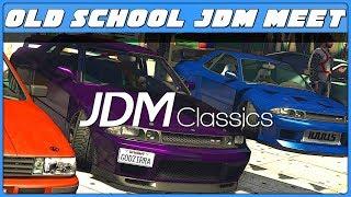 Gta Online Jdm Cl Ics Car Meet
