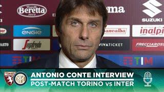 TORINO 0-3 INTER | ANTONIO CONTE EXCLUSIVE INTERVIEW: