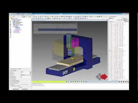 Edgecam to Vericut interface (ECV)