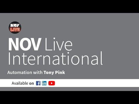 NOV Live International - Digital Capabilities - Automation