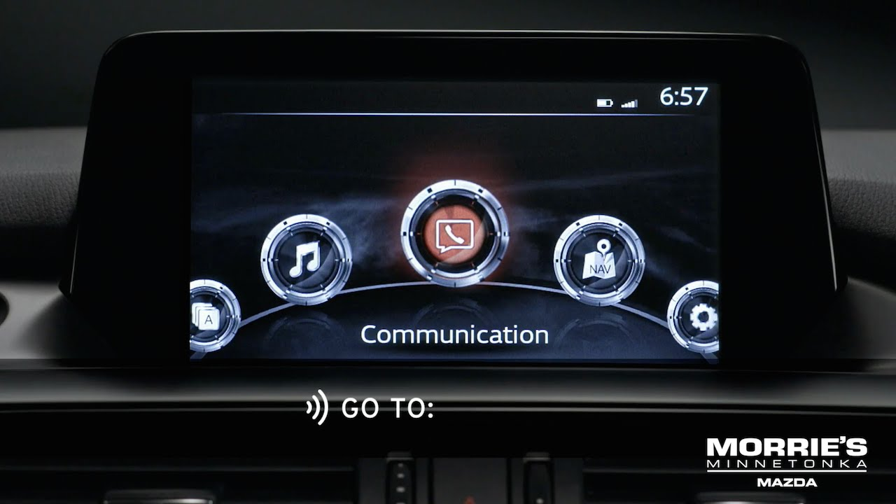 How To Use Voice Recognition With The Mazda Connect Infotainment Remote Car Starter For 5 System Youtube