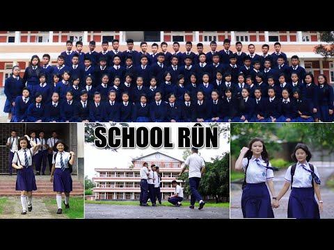 SCHOOL RÛN [ Hmar Love Song 2021]  Vocal: Anggu Kom, Cast: Teresa Varte & Stellen Keivom