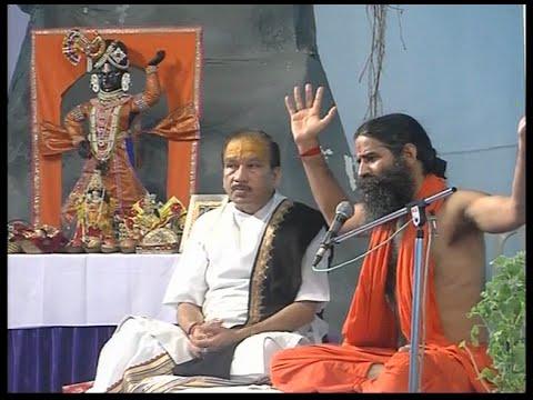 Bhagbat Katha: Swami Ramdev with Shri...