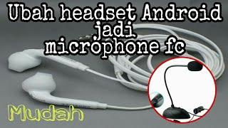 Cara Headset sebagai microphone di komputer