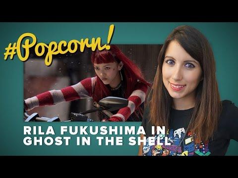 Rila Fukushima nel cast di GHOST IN THE SHELL #Popcorn
