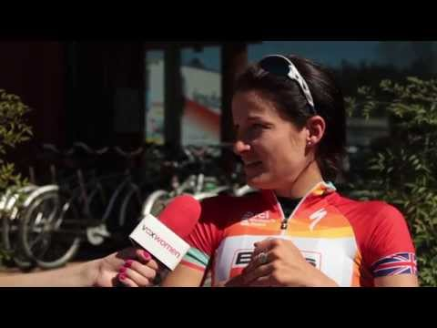 Lizzie Armitstead talks racing and cycling as a vegetarian
