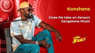 Konshens gives his take on Kenya s Gengetone Music The Sauce