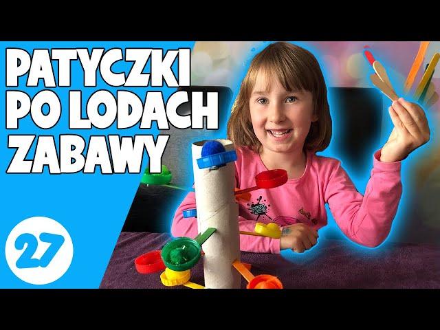 Zabawy edukacyjne z patyczków po lodach | Gry dla dzieci | Idealna Mama