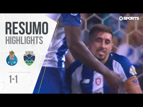 Highlights: FC Porto 1-1 Chaves (League Cup #1)