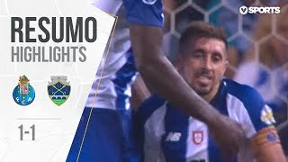 Highlights | Resumo: FC Porto 1-1 Chaves (Allianz CUP #1)