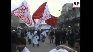 Footage of Ashoura festival just before explosions