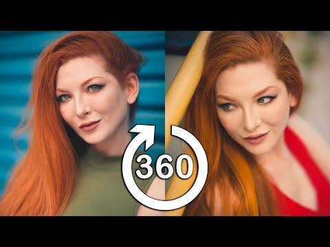 [360 BTS] Photoshoot with Ashlynne Dae