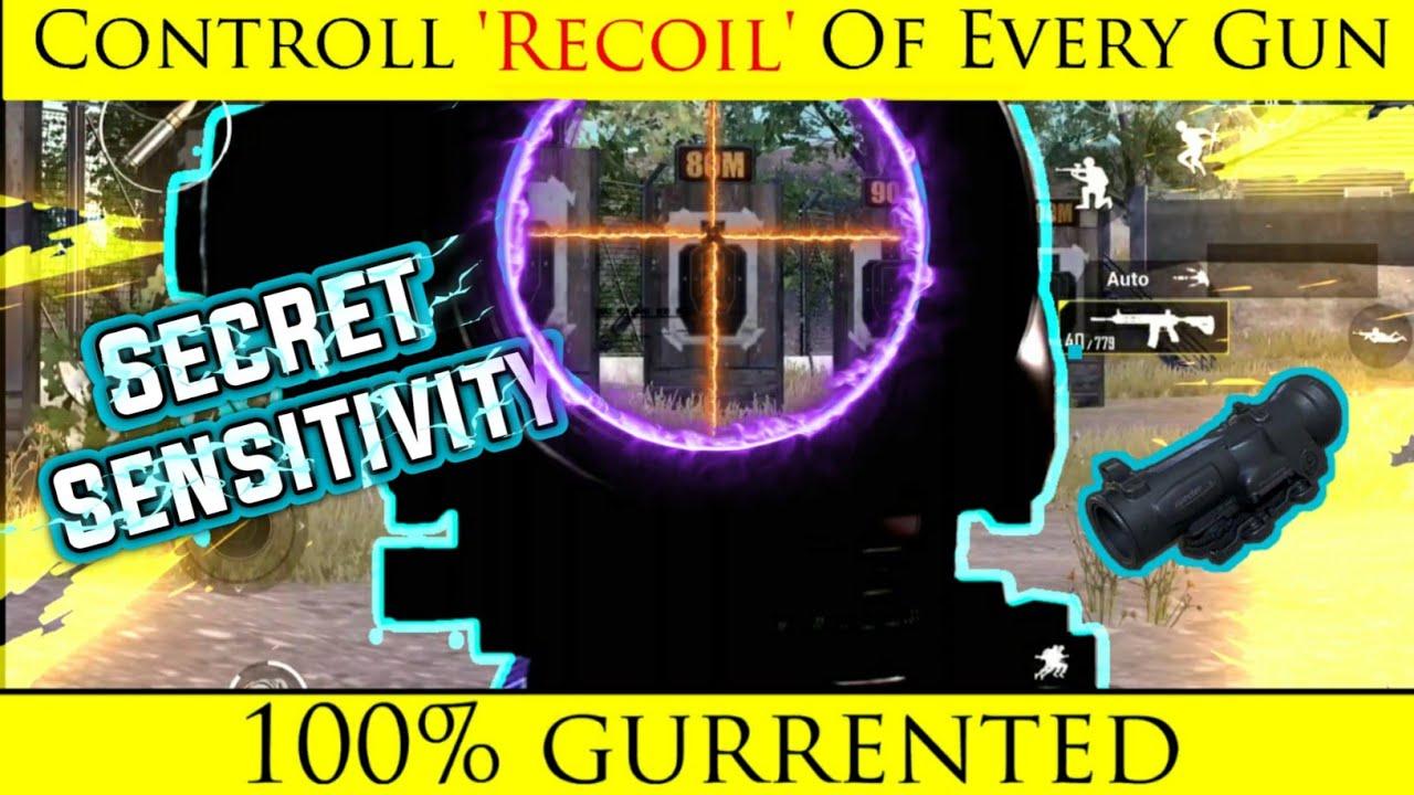 Best Sensitivity For Recoil Controlling | रीकॉइल कंट्रोल ...