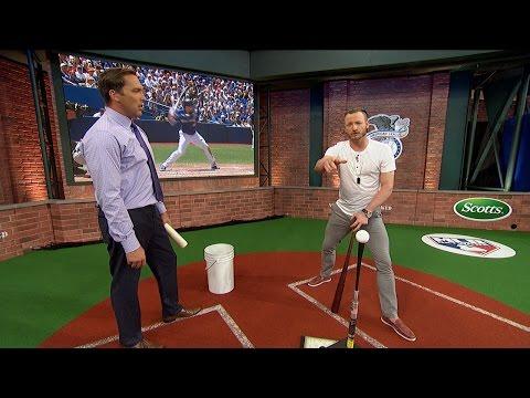 Donaldson Explains His Swing in Studio 42
