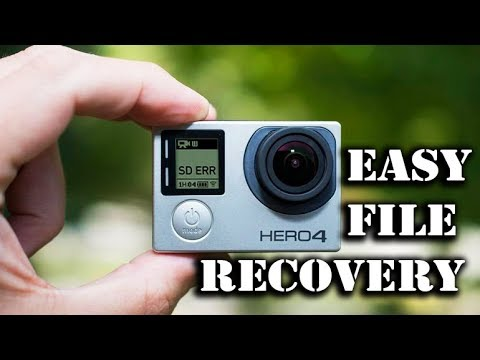 GoPro SD ERR Fix! Recover all files from GoPro (100% working with all  GoPros and any Action Camera)