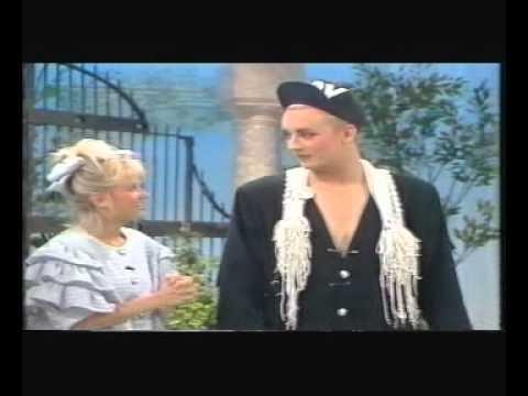 Boy George on ITV Kids Show 'Splash' 1987