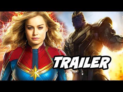 Captain Marvel International Trailer - Avengers Endgame Easter Eggs Breakdown