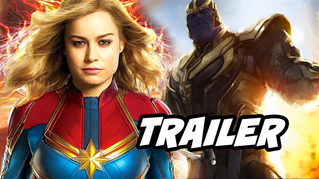 Download Captain Marvel International Trailer - Avengers Endgame Easter Eggs Breakdown
