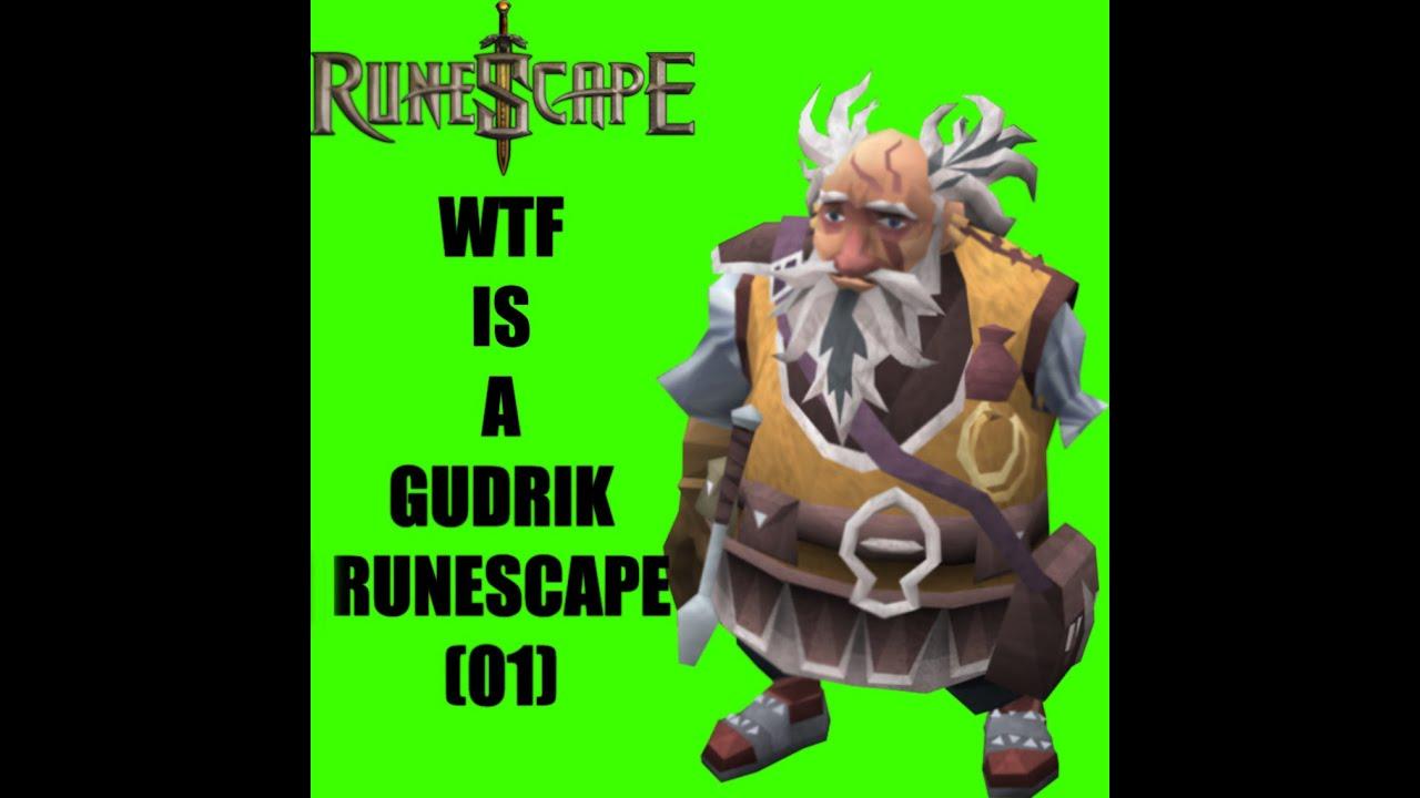 Lets Play Runescape 2015! Episode 1 - WTF IS A GUDRIK
