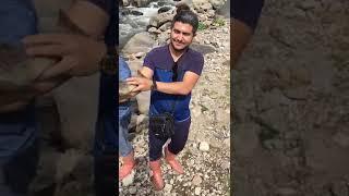 Ahmet iractan  selamları kırmızı benekli alabalik avından aldik