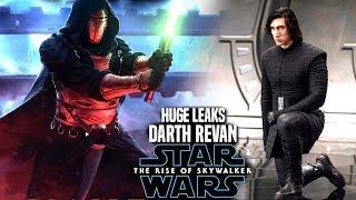 The Rise Of Skywalker Darth Revan HUGE Leaks Revealed! (Star Wars Episode 9)