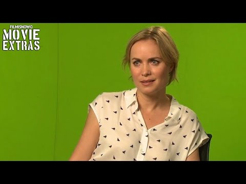 London Has Fallen (2016) Behind the Scenes Movie Interview - Radha Mitchell is 'Leah Banning'