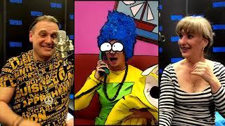 Marge Simpson in Prague