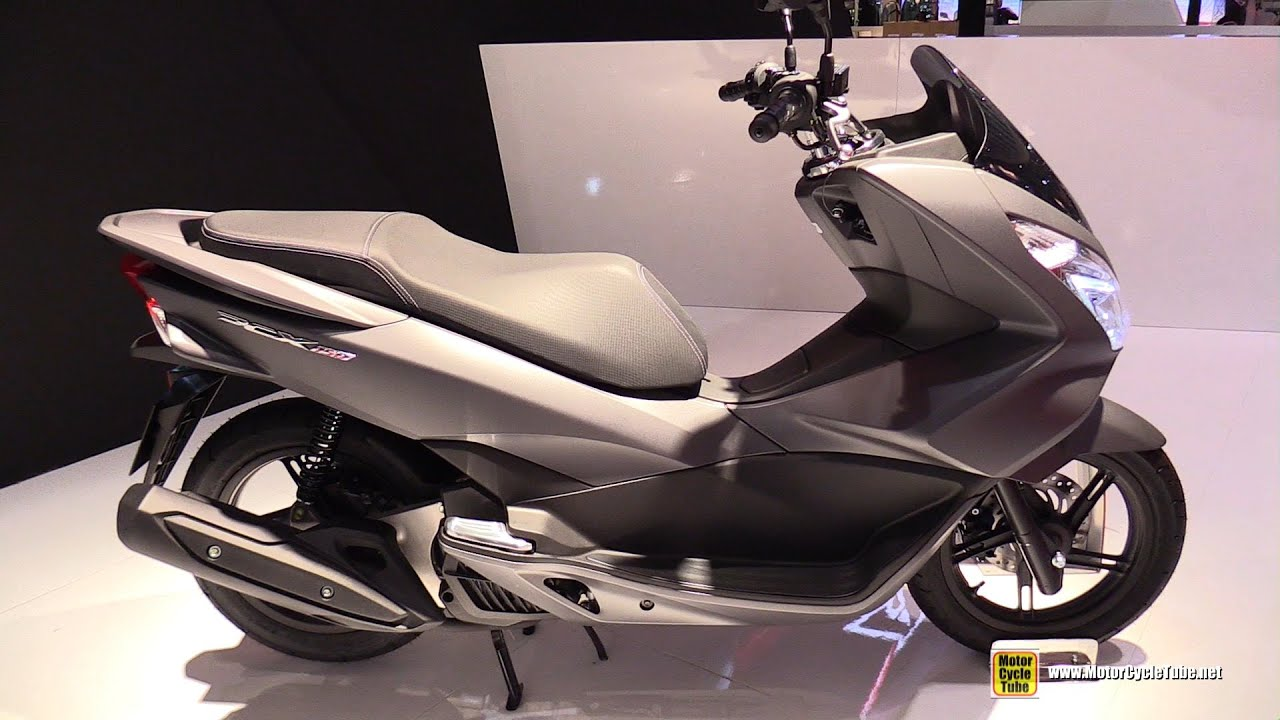 2016 honda pcx 150 scooter walkaround 2015 eicma milan youtube. Black Bedroom Furniture Sets. Home Design Ideas
