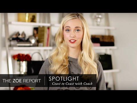 Coast to Coast with Coach | The Zoe Report by Rachel Zoe