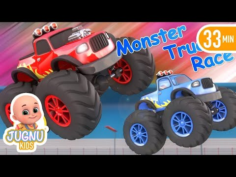 Kids Video about race cars and sport car racing   Car racing in los angeles city Surprise eggs