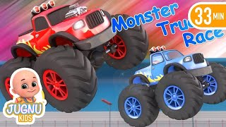 Cars for kids | Bobo Driving Racing Car in Dream | kids see dream car4Kids - Jugnu Kids