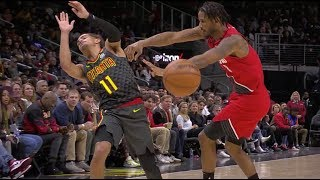Trevor Ariza Trucks Trae Young After Getting Nutmegged