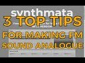 3 Top Tips for Making FM Sound More Analogue (Volca FM, DX7, etc.)