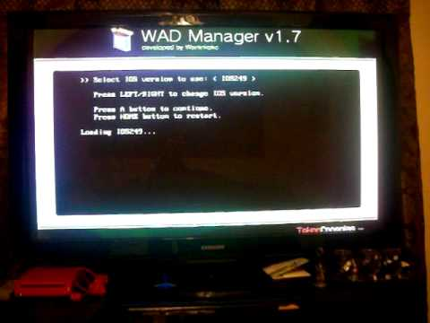 Wii remote wadmanager problem