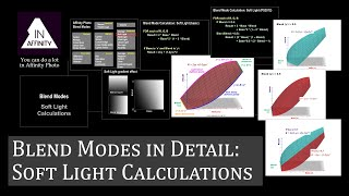 Blend Modes in Detail: 'Soft Light' Calculations