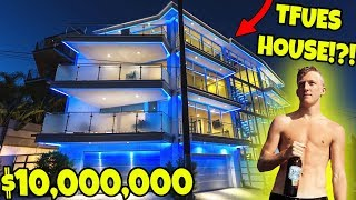 Visiting TFUE In The New FORTNITE MANSION!!! (Ft. Steveo & FaZe Clan) | JoogSquad PPJT