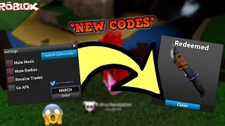 *NEW* MARCH 2019 ROBLOX ASSASSIN CODE! *GIVES ANY RANDOM KNIFE* (ROBLOX ASSASSIN NEW CODES)