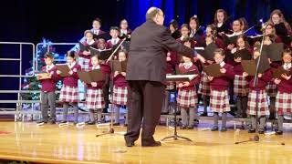 FULL VERSION of Om Jai Jagdish hare aarti sung by Canadian kids at a Christmas Concert
