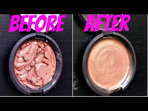 How I Fixed My Broken Becca Highlighter