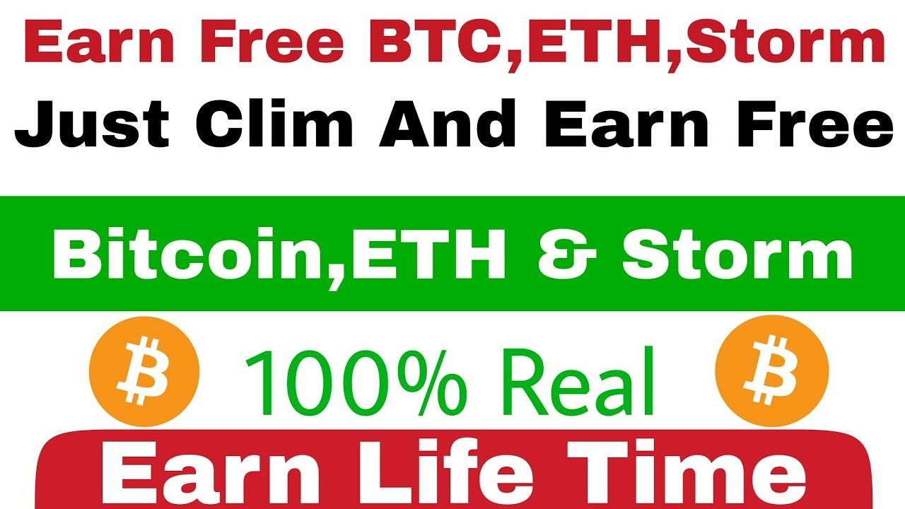 Just Claim And Earn BTC ETH Storm Coin100 Give Payment Real App Life Time