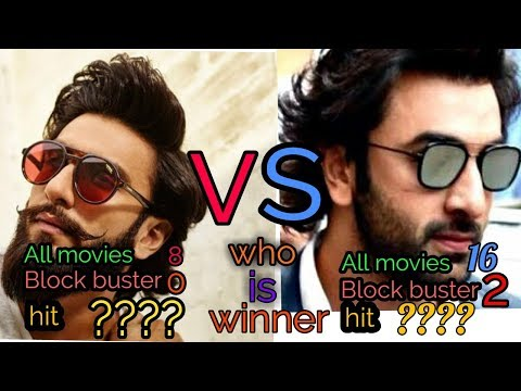 Ranveer Singh Vs ranbir Kapoor movie comparison hit and flop with budget and collection