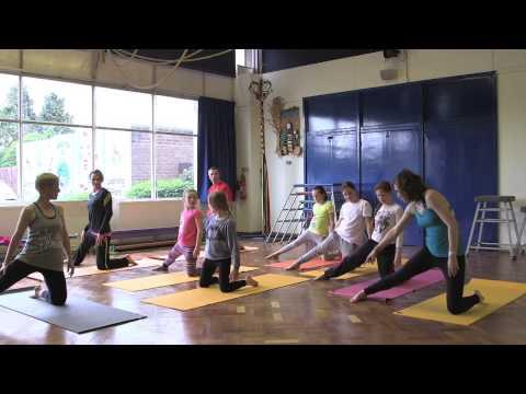 Yoga For Kids - Strengthening Video