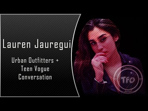 Lauren Jauregui at Urban Outfitters + Teen Vogue
