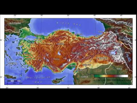 The Geography of Turkey - YouTube