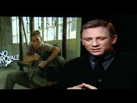 Daniel Craig interviewed on Casino Royale