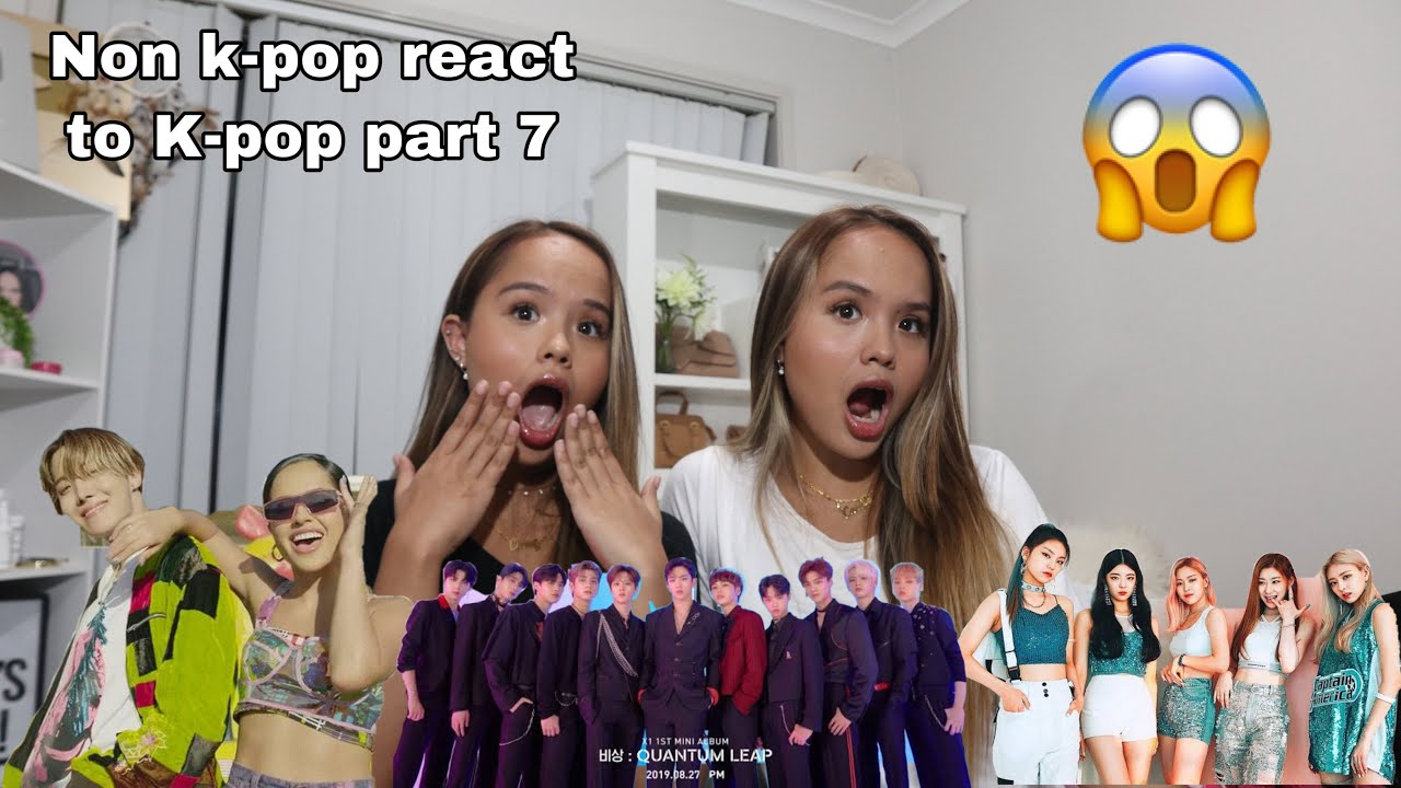 NON KPOP REACT TO KPOP PART 7 (J hope, X1, itzy) - YouTube