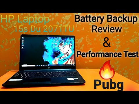 HP Core i3 10th Gen-(8gb/1 TB HDD/Windows 10 Home)15s-du2071TU || Full Review  Speed Test 🔥