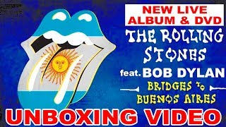 """Baixar UNBOXED: Rolling Stones featuring Bob Dylan """"Bridges to Buenos Aires"""""""